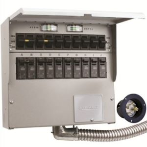 10 Circuit Transfer Switch